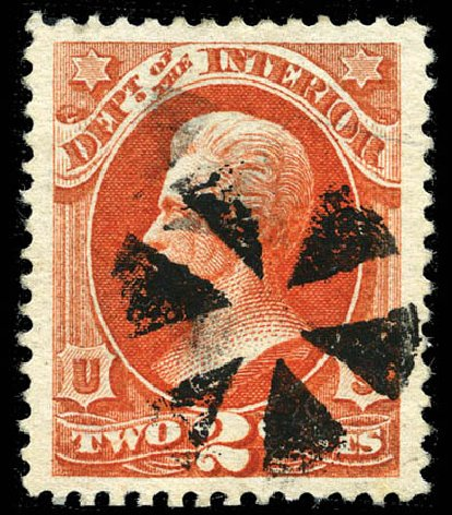 Price of US Stamp Scott Catalogue # O16: 2c 1873 Interior Official. Matthew Bennett International, Mar 2012, Sale 344, Lot 4813