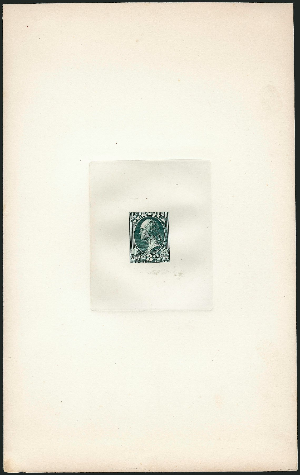 US Stamp Price Scott Cat. O27 - 1873 3c Justice Official. Robert Siegel Auction Galleries, Dec 2012, Sale 1037, Lot 1248