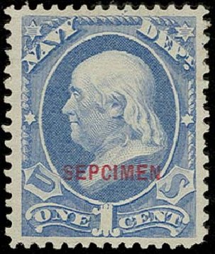 Price of US Stamp Scott Catalogue # O35 - 1c 1873 Navy Official. H.R. Harmer, Oct 2014, Sale 3006, Lot 1529
