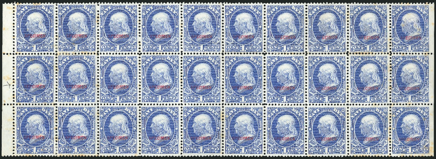 US Stamps Price Scott Catalogue # O35: 1873 1c Navy Official. Robert Siegel Auction Galleries, Mar 2015, Sale 1095, Lot 583