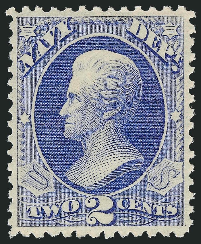 Prices of US Stamp Scott Cat. #O36: 2c 1873 Navy Official. Robert Siegel Auction Galleries, Oct 2010, Sale 997, Lot 6269