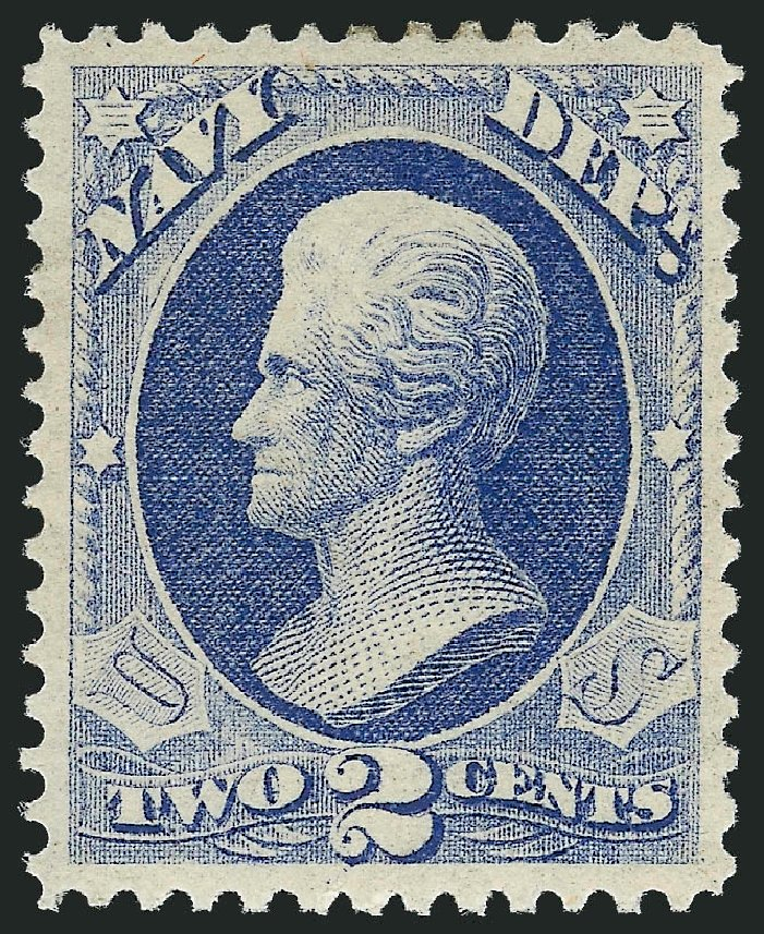 Costs of US Stamps Scott # O36: 2c 1873 Navy Official. Robert Siegel Auction Galleries, Nov 2013, Sale 1061, Lot 4162