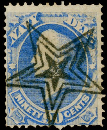 US Stamps Prices Scott # O45 - 90c 1873 Navy Official. Matthew Bennett International, Dec 2008, Sale 330, Lot 1926