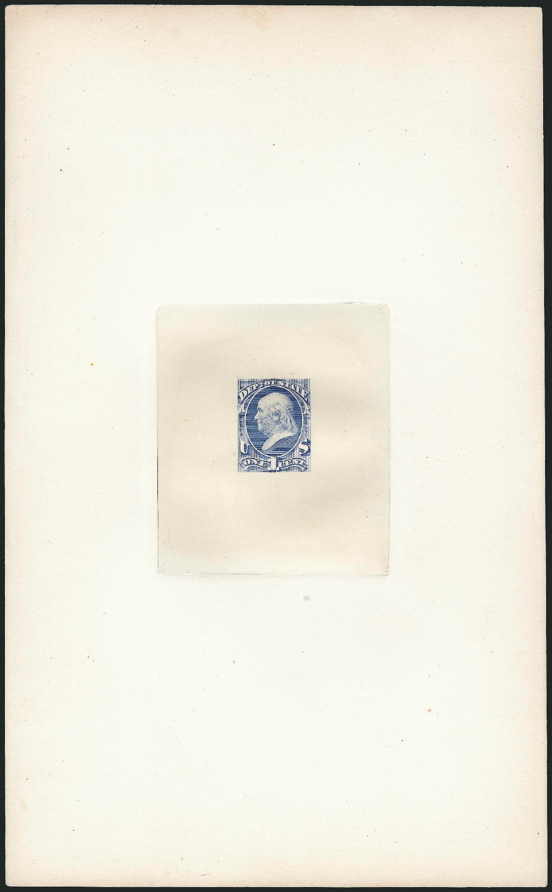 US Stamps Value Scott #O57: 1873 1c State Official. Robert Siegel Auction Galleries, Dec 2012, Sale 1037, Lot 1249