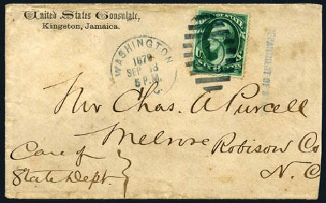 Price of US Stamp Scott #O60: 1873 6c State Official. Harmer-Schau Auction Galleries, Aug 2011, Sale 90, Lot 1741