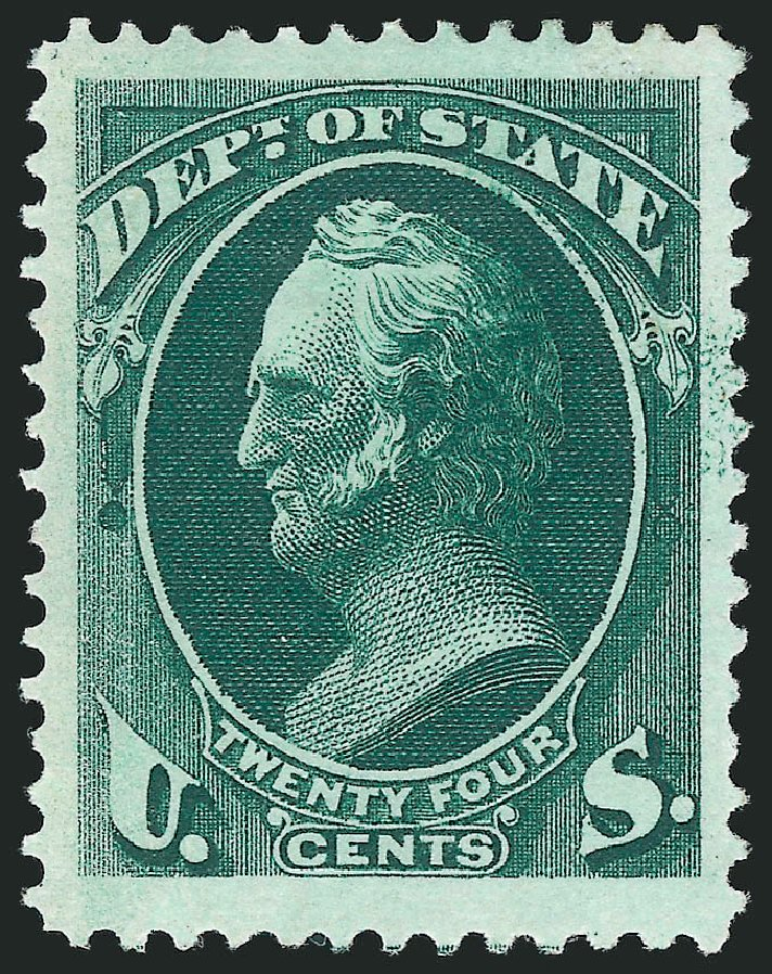 US Stamps Value Scott Catalogue #O65: 24c 1873 State Official. Robert Siegel Auction Galleries, Nov 2014, Sale 1085, Lot 4095