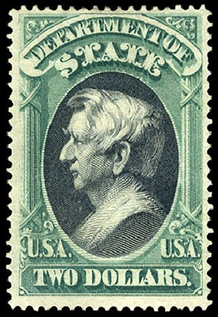 Prices of US Stamp Scott #O68: 1873 US$2.00 State Official. Cherrystone Auctions, May 2015, Sale 201505, Lot 75