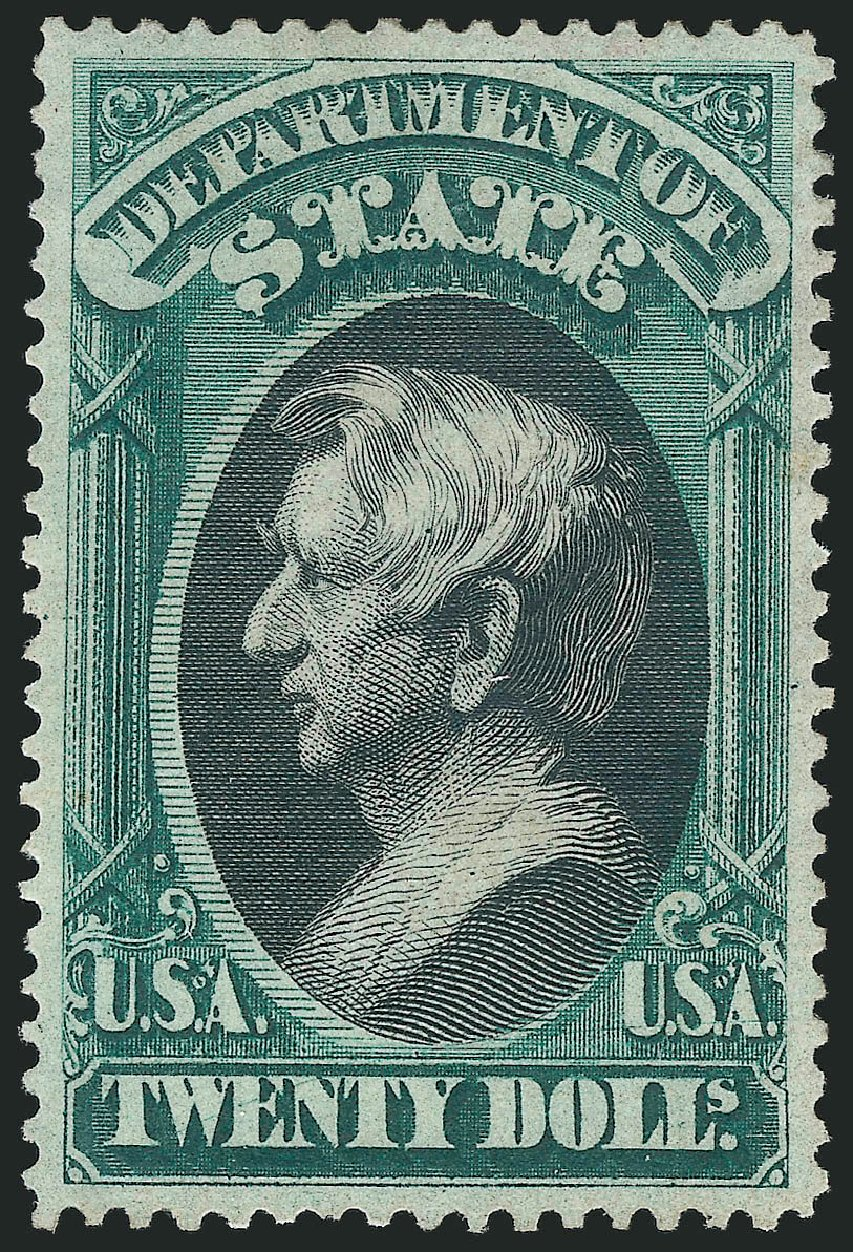 Price of US Stamps Scott #O71: US$20.00 1873 State Official. Robert Siegel Auction Galleries, Oct 2014, Sale 1082, Lot 508