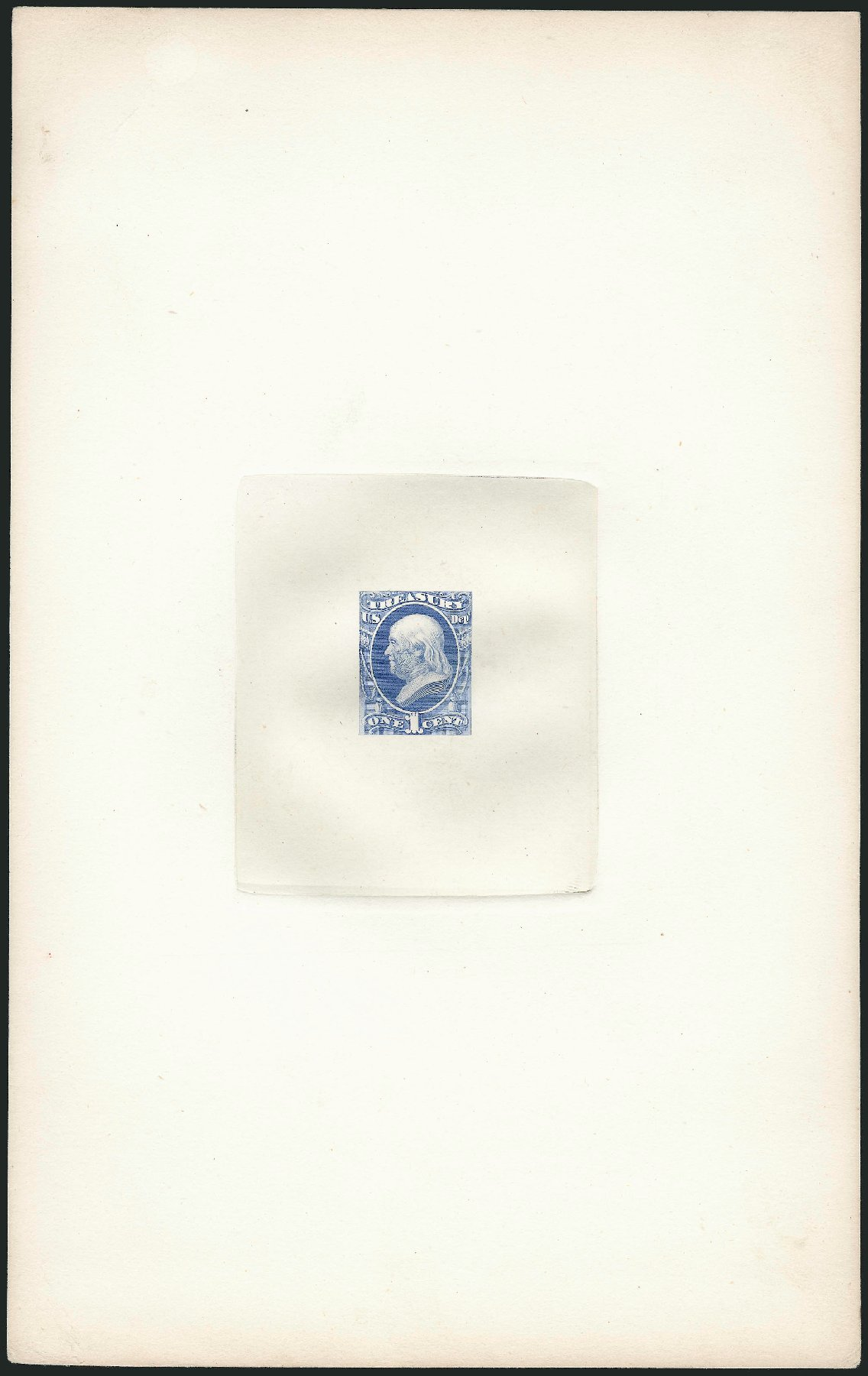 US Stamp Value Scott Cat. O72 - 1873 1c Treasury Official. Robert Siegel Auction Galleries, Dec 2012, Sale 1037, Lot 1251