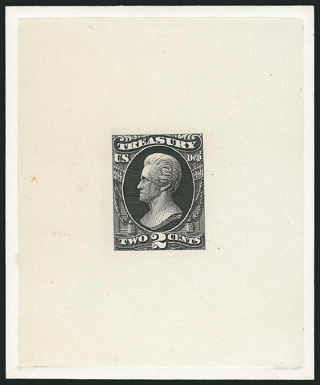 Cost of US Stamps Scott Catalog O73 - 1873 2c Treasury Official. Robert Siegel Auction Galleries, Mar 2013, Sale 1040, Lot 1119