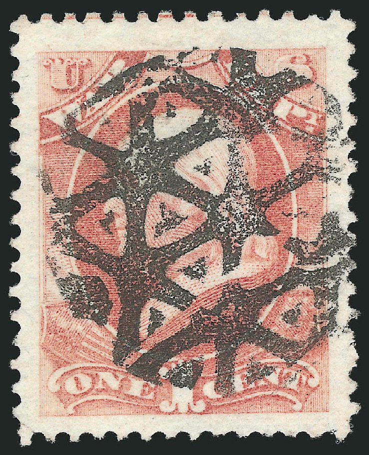 Costs of US Stamp Scott Catalogue #O83 - 1873 1c War Official. Robert Siegel Auction Galleries, Nov 2014, Sale 1085, Lot 4150