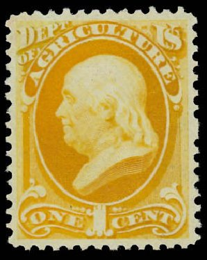Cost of US Stamps Scott # O94: 1c 1879 Agriculture Official. Daniel Kelleher Auctions, Jan 2015, Sale 663, Lot 2167