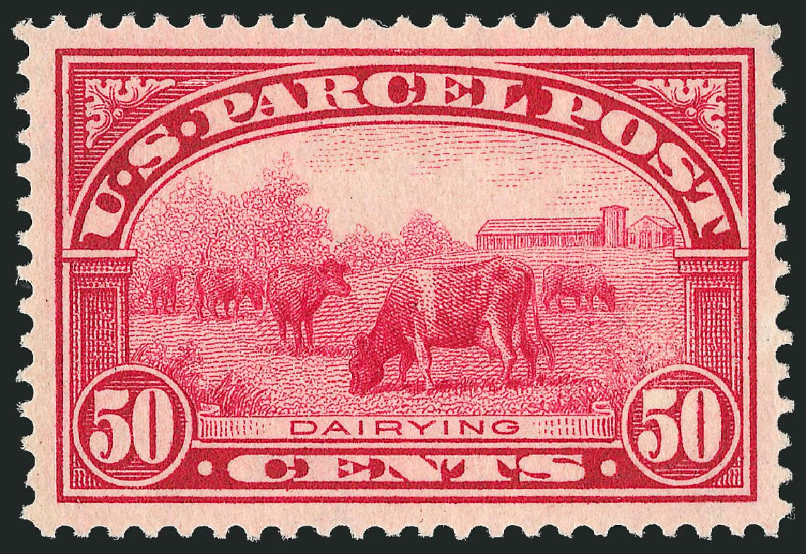 US Stamps Prices Scott Catalogue # Q10: 50c 1913 Parcel Post. Robert Siegel Auction Galleries, Mar 2015, Sale 1094, Lot 288