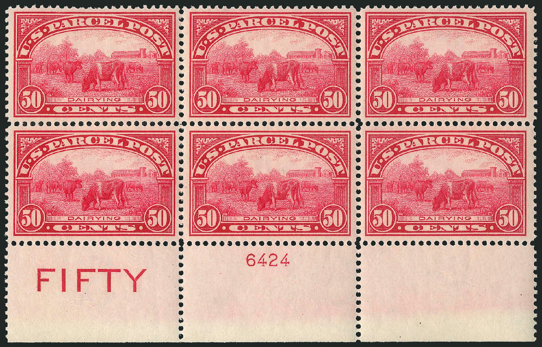 Price of US Stamps Scott # Q10: 1913 50c Parcel Post. Robert Siegel Auction Galleries, Mar 2015, Sale 1094, Lot 289