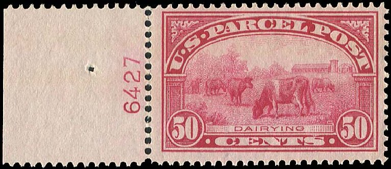 Cost of US Stamps Scott Catalog Q10 - 50c 1913 Parcel Post. Regency-Superior, Aug 2015, Sale 112, Lot 1270