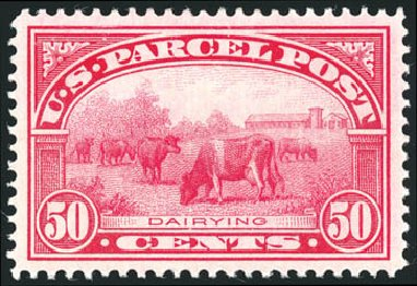 US Stamp Prices Scott # Q10: 50c 1913 Parcel Post. Schuyler J. Rumsey Philatelic Auctions, Apr 2015, Sale 60, Lot 2593
