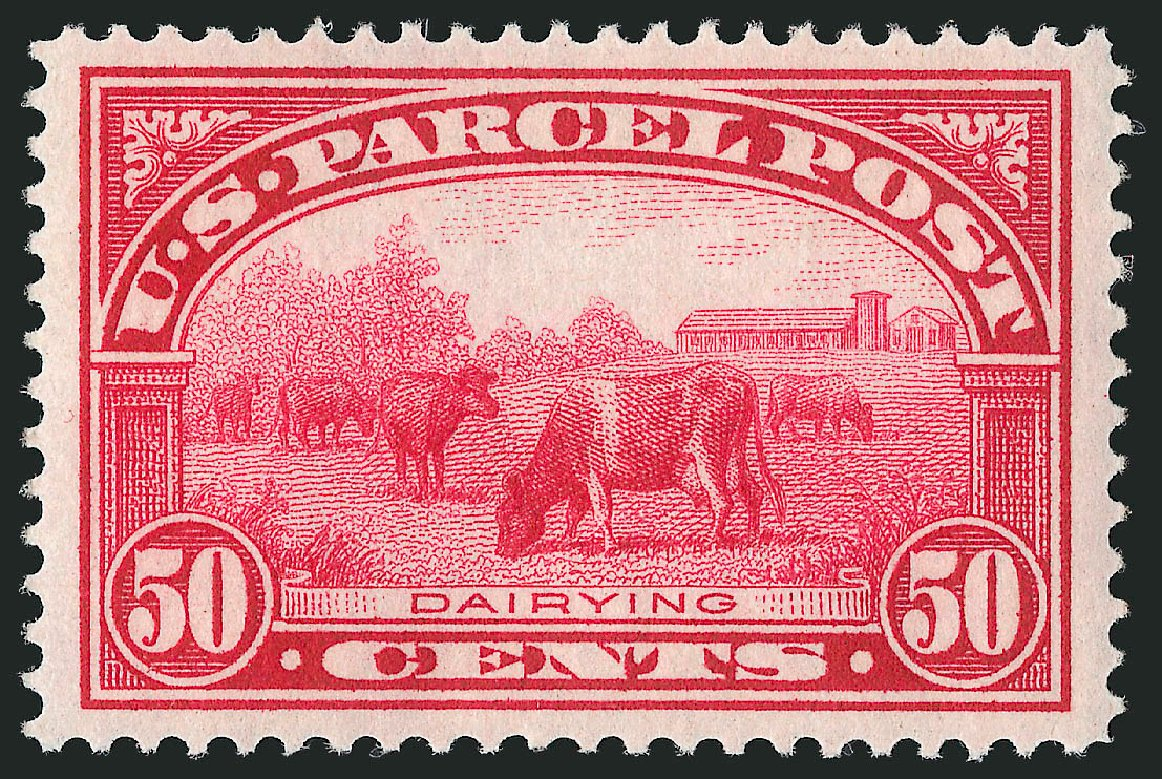 US Stamps Value Scott Catalog Q10 - 50c 1913 Parcel Post. Robert Siegel Auction Galleries, Feb 2015, Sale 1092, Lot 1476