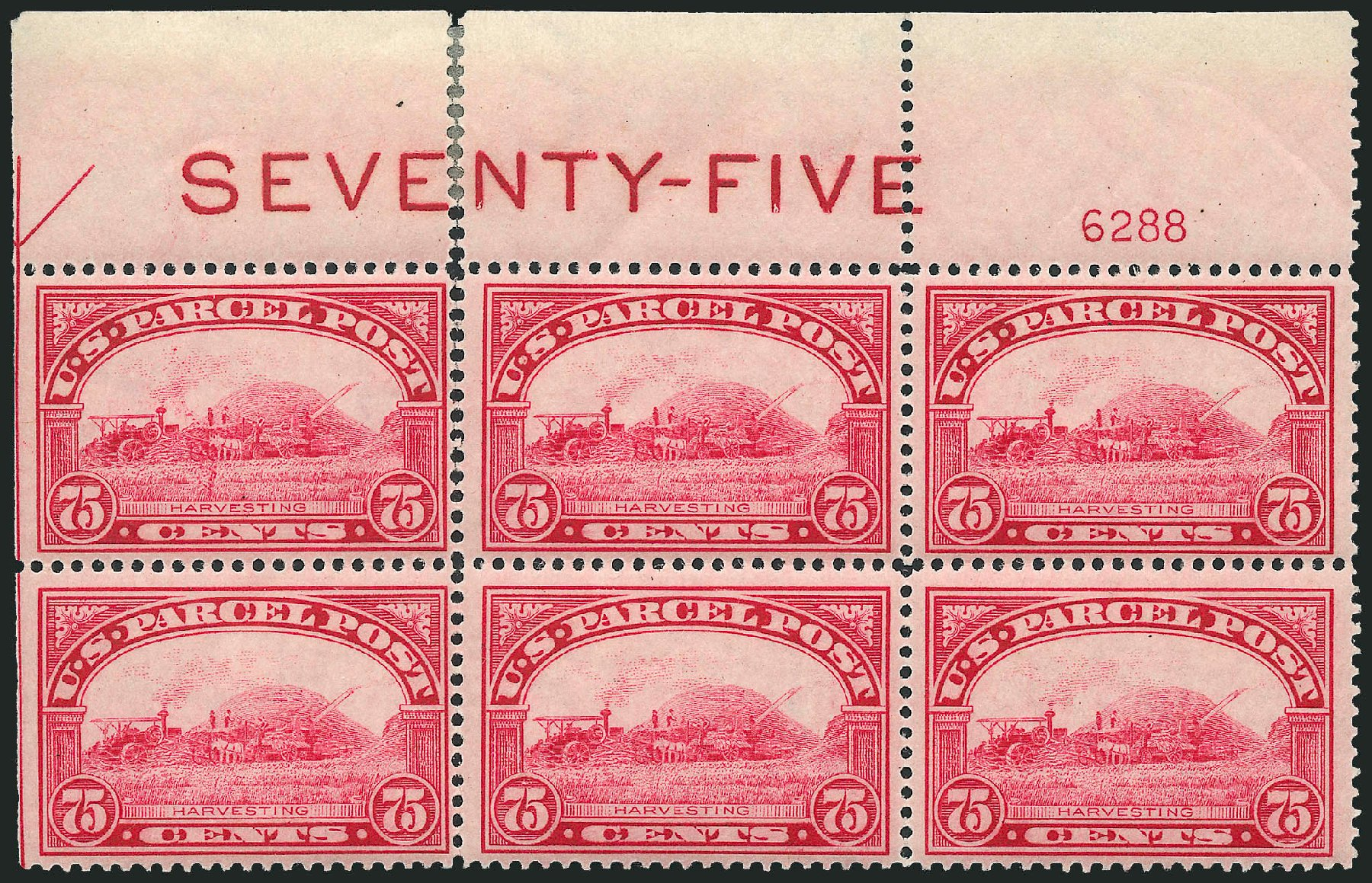 Price of US Stamps Scott Cat. # Q11: 1913 75c Parcel Post. Robert Siegel Auction Galleries, Apr 2009, Sale 971, Lot 2207