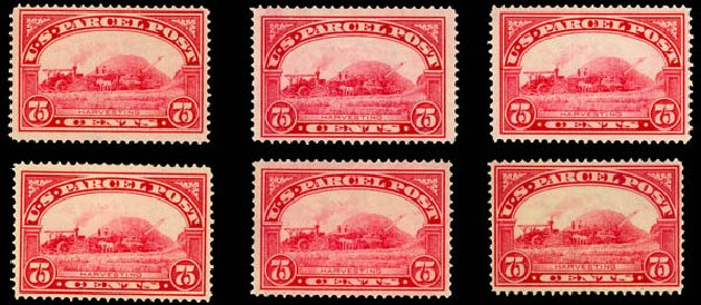 Cost of US Stamp Scott # Q11 - 1913 75c Parcel Post. Daniel Kelleher Auctions, Jan 2015, Sale 663, Lot 2189