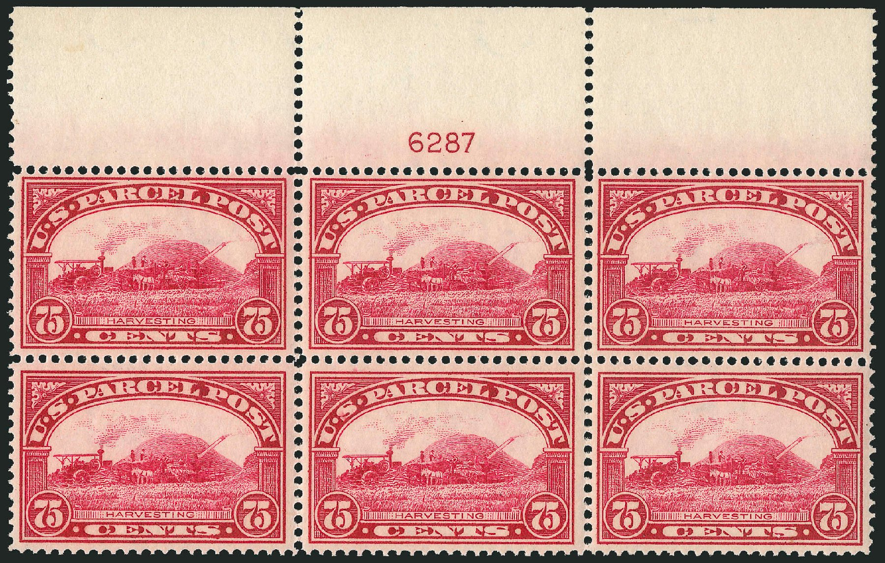 US Stamps Prices Scott Catalogue #Q11 - 1913 75c Parcel Post. Robert Siegel Auction Galleries, Jun 2015, Sale 1106, Lot 3169