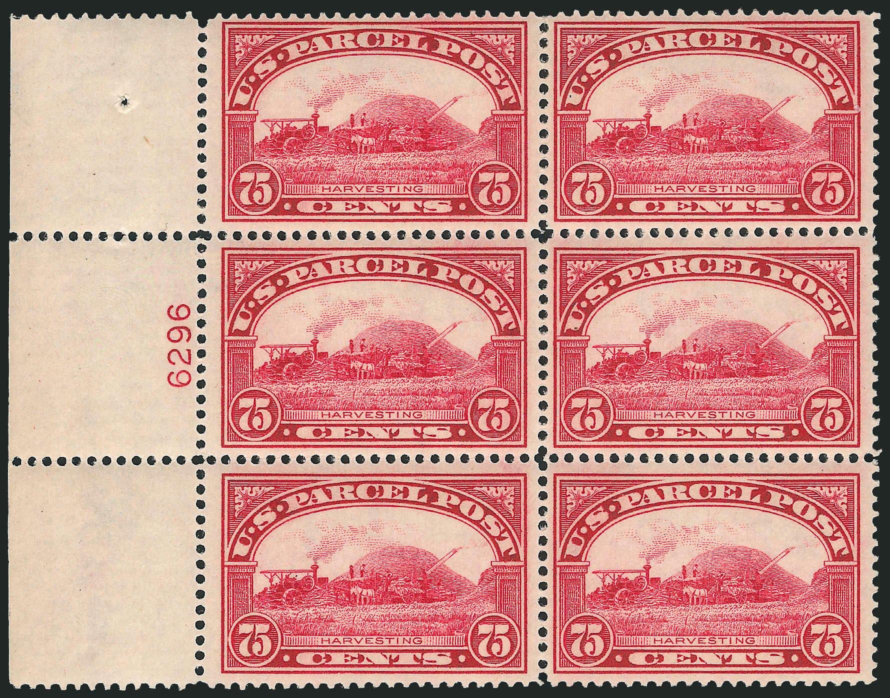 US Stamps Price Scott Q11: 75c 1913 Parcel Post. Robert Siegel Auction Galleries, Apr 2009, Sale 971, Lot 2200