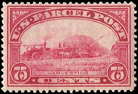 US Stamps Price Scott Catalog #Q11: 1913 75c Parcel Post. Regency-Superior, Nov 2014, Sale 108, Lot 1261