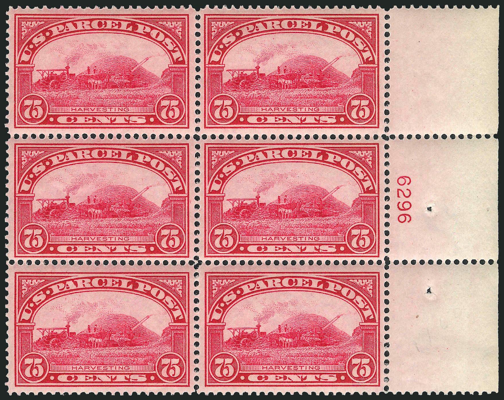 US Stamps Prices Scott # Q11: 75c 1913 Parcel Post. Robert Siegel Auction Galleries, Apr 2009, Sale 971, Lot 2201