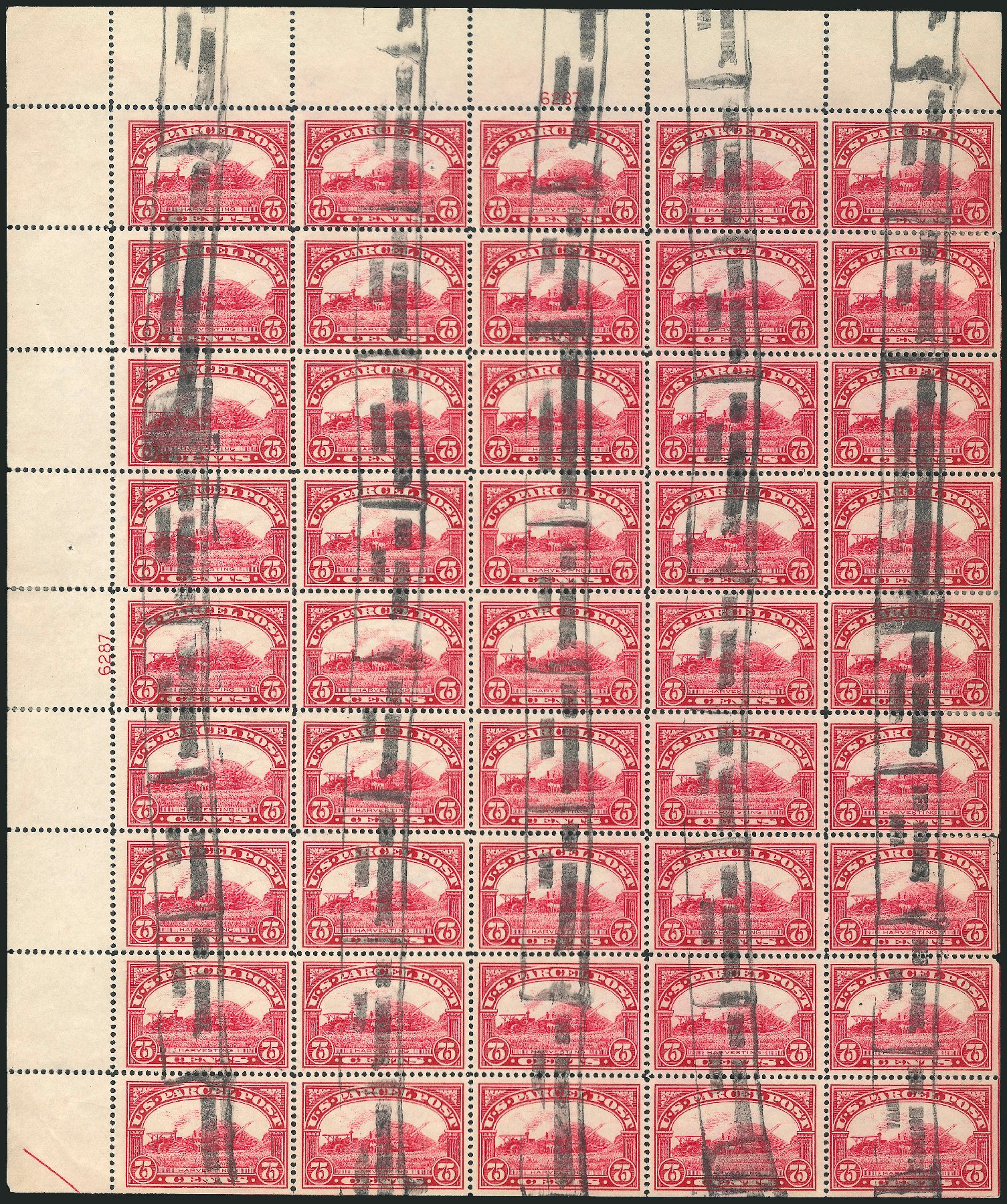 US Stamp Prices Scott # Q11 - 1913 75c Parcel Post. Robert Siegel Auction Galleries, Mar 2015, Sale 1094, Lot 294