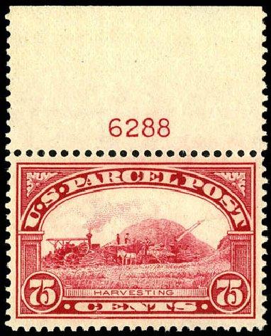 Price of US Stamp Scott Catalog Q11 - 75c 1913 Parcel Post. Matthew Bennett International, Dec 2008, Sale 330, Lot 1943