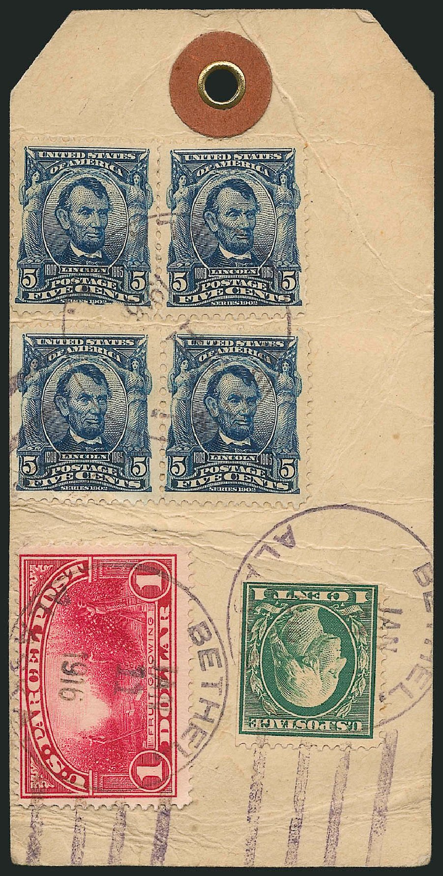 Value of US Stamp Scott Q12: US$1.00 1913 Parcel Post. Robert Siegel Auction Galleries, Mar 2015, Sale 1094, Lot 300