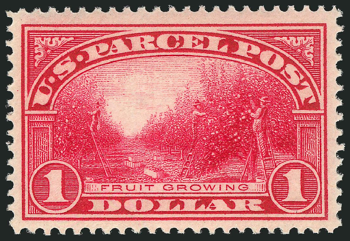Price of US Stamp Scott #Q12: 1913 US$1.00 Parcel Post. Robert Siegel Auction Galleries, Dec 2014, Sale 1090, Lot 1705