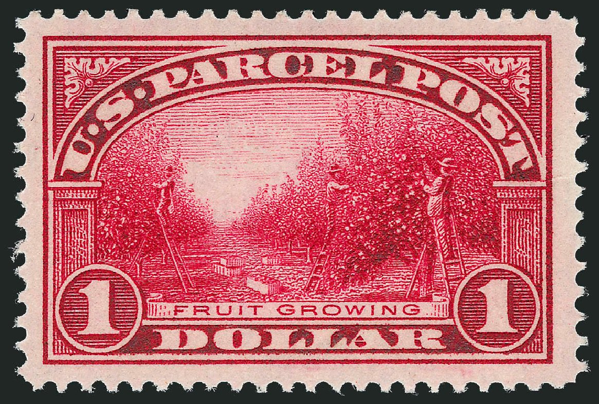 Costs of US Stamp Scott Cat. Q12: US$1.00 1913 Parcel Post. Robert Siegel Auction Galleries, Mar 2015, Sale 1094, Lot 295