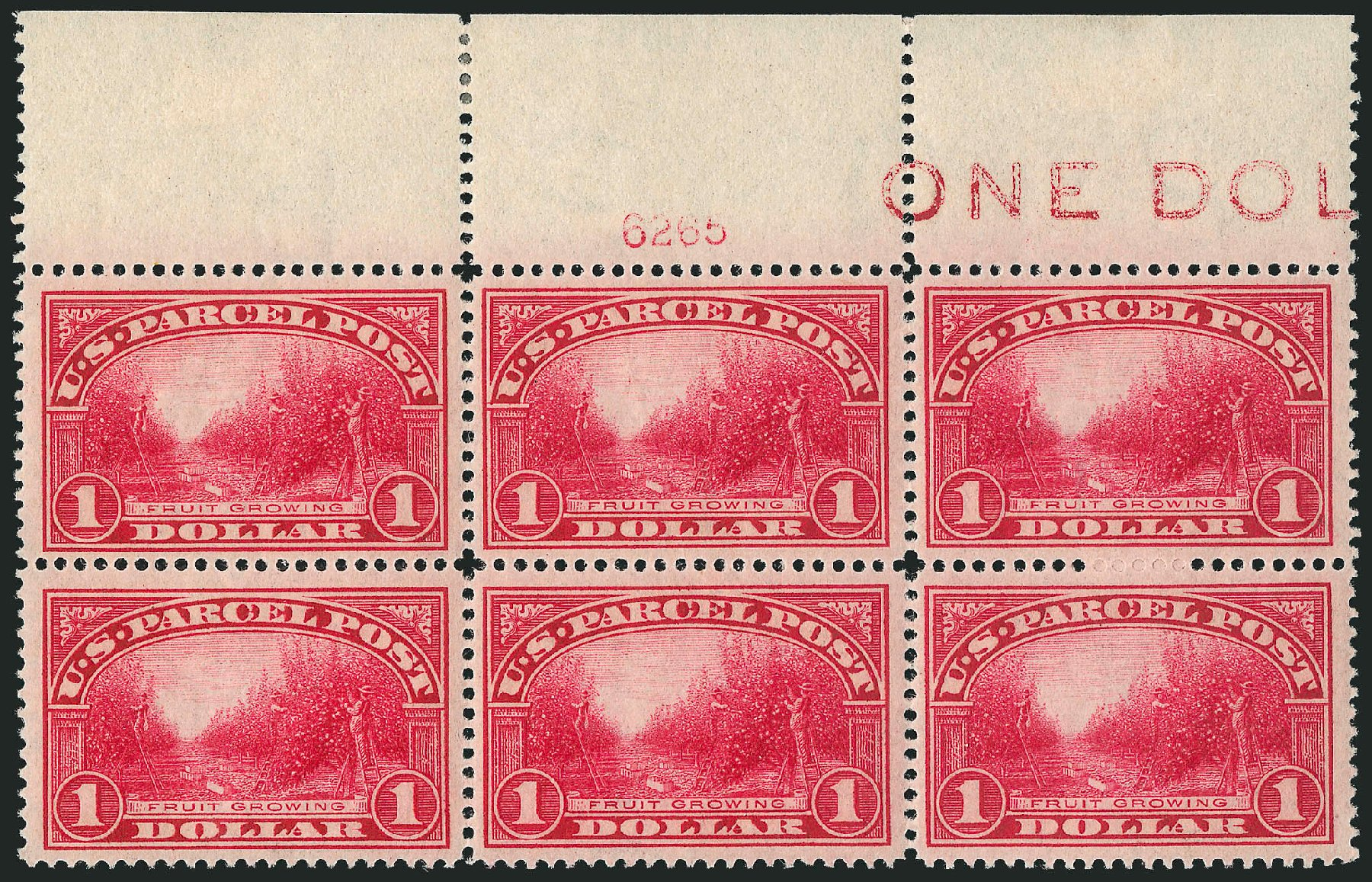 US Stamps Price Scott Catalogue # Q12: US$1.00 1913 Parcel Post. Robert Siegel Auction Galleries, Mar 2015, Sale 1094, Lot 296