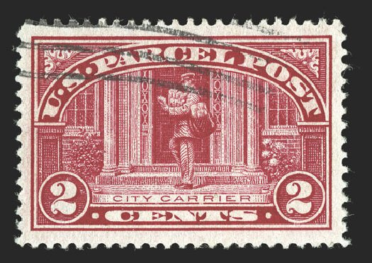 Cost of US Stamps Scott #Q2 - 1913 2c Parcel Post. Spink Shreves Galleries, Jul 2012, Sale 140, Lot 387