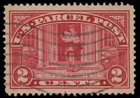 Price of US Stamps Scott Catalog # Q2: 1913 2c Parcel Post. H.R. Harmer, May 2014, Sale 3005, Lot 1432