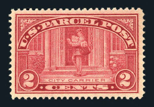 US Stamps Prices Scott Cat. Q2 - 1913 2c Parcel Post. Harmer-Schau Auction Galleries, Aug 2015, Sale 106, Lot 2176