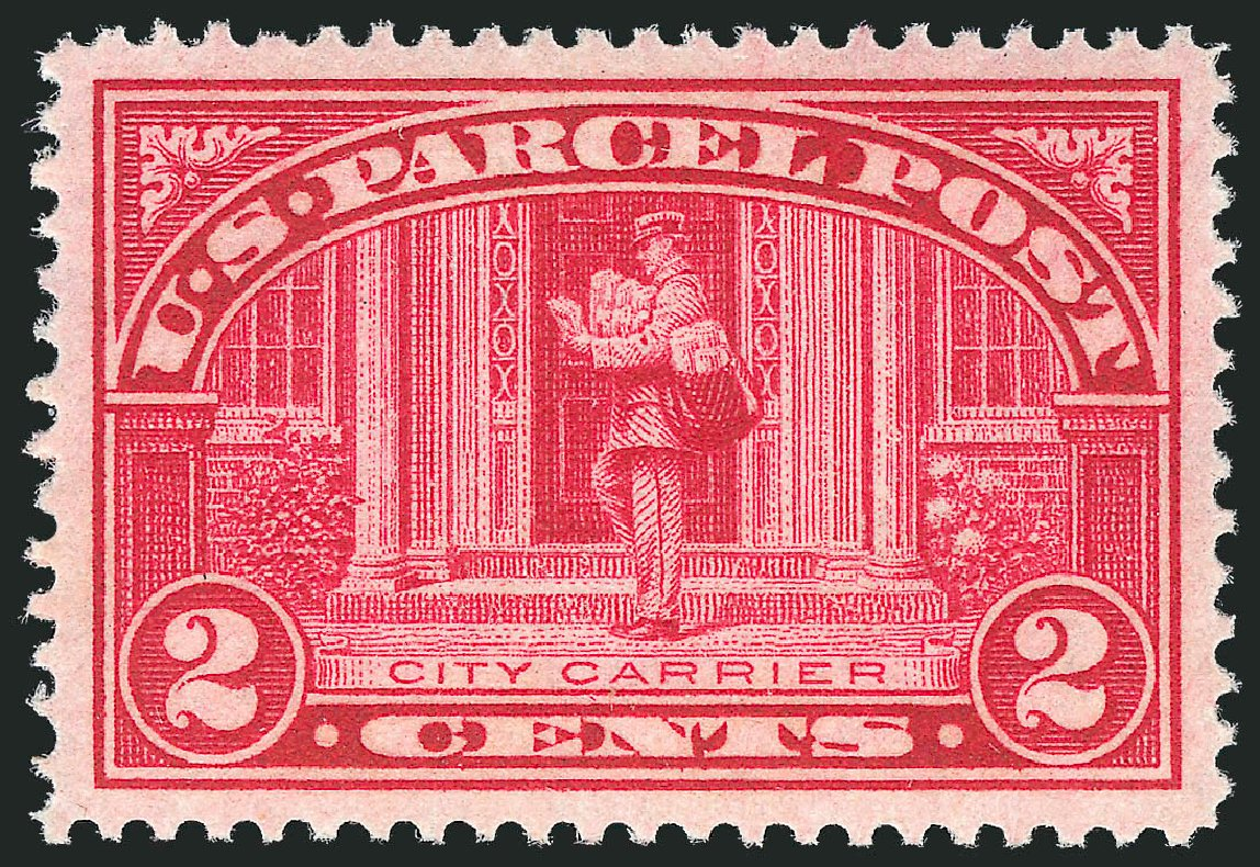 Price of US Stamp Scott # Q2: 2c 1913 Parcel Post. Robert Siegel Auction Galleries, Dec 2010, Sale 1000, Lot 1296