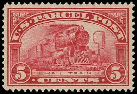 US Stamp Price Scott Catalogue # Q5: 1913 5c Parcel Post. H.R. Harmer, Jun 2013, Sale 3003, Lot 1614