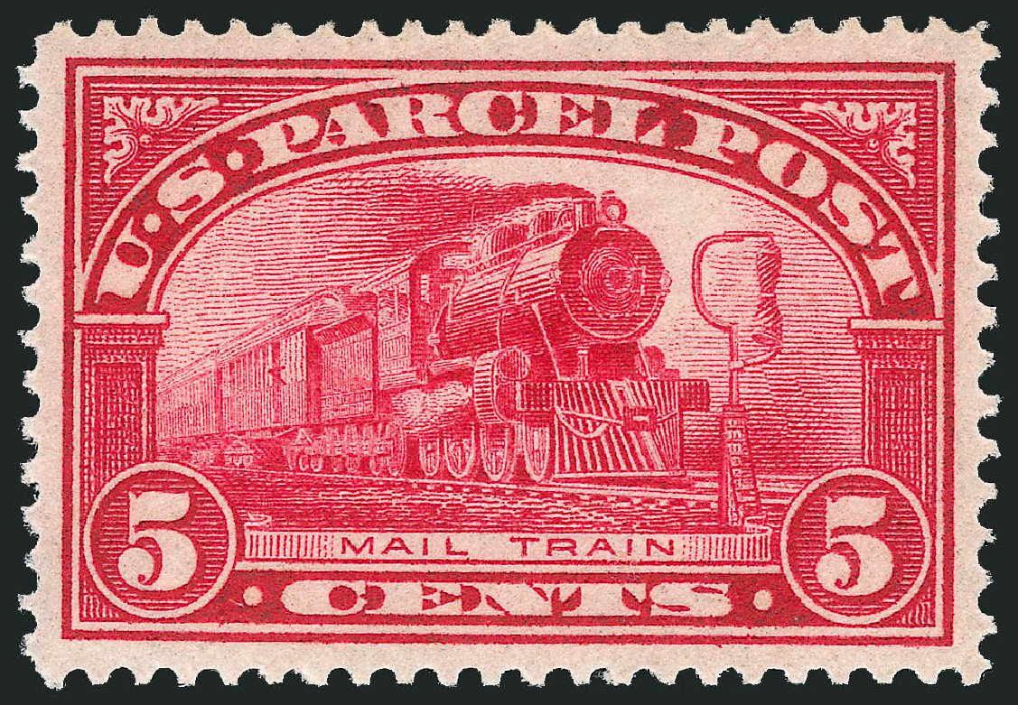 US Stamps Value Scott Cat. # Q5 - 5c 1913 Parcel Post. Robert Siegel Auction Galleries, Mar 2013, Sale 1040, Lot 2173