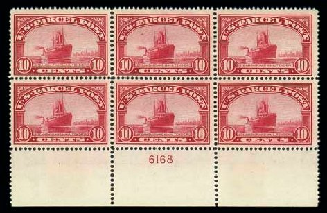 US Stamps Price Scott Catalogue # Q6: 10c 1913 Parcel Post. Matthew Bennett International, Dec 2007, Sale 325, Lot 2547