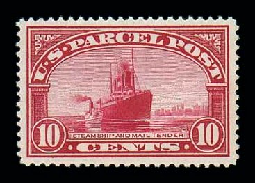 Prices of US Stamp Scott # Q6: 10c 1913 Parcel Post. Matthew Bennett International, Jun 2007, Sale 319, Lot 1749