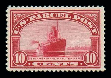 US Stamps Value Scott # Q6: 10c 1913 Parcel Post. Matthew Bennett International, Jun 2007, Sale 319, Lot 1750