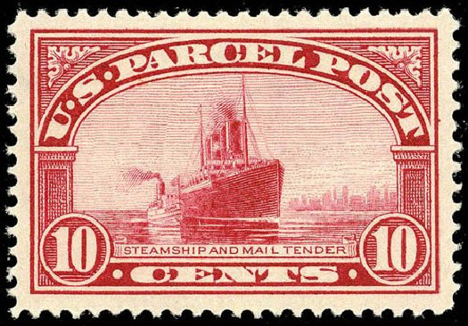 Price of US Stamp Scott Q6: 10c 1913 Parcel Post. Matthew Bennett International, Apr 2008, Sale 326, Lot 725