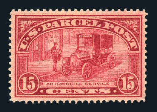 US Stamps Price Scott Catalogue #Q7 - 15c 1913 Parcel Post. Harmer-Schau Auction Galleries, Aug 2015, Sale 106, Lot 2178