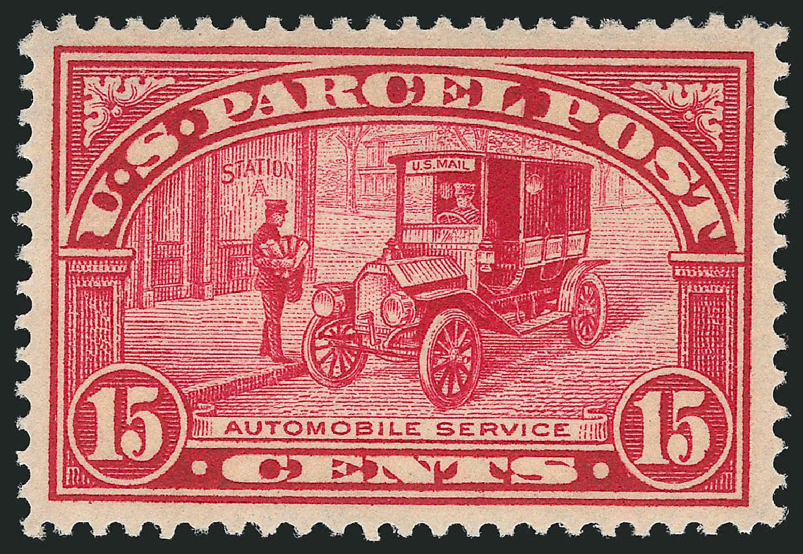 Values of US Stamp Scott Q7: 15c 1913 Parcel Post. Robert Siegel Auction Galleries, Dec 2014, Sale 1090, Lot 1699