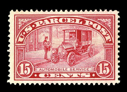 Prices of US Stamp Scott Cat. #Q7: 1913 15c Parcel Post. Spink Shreves Galleries, May 2014, Sale 148, Lot 399