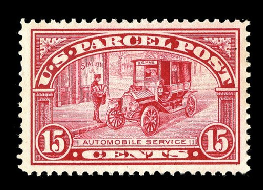 Values of US Stamps Scott Catalog #Q7 - 1913 15c Parcel Post. Spink Shreves Galleries, May 2014, Sale 148, Lot 400