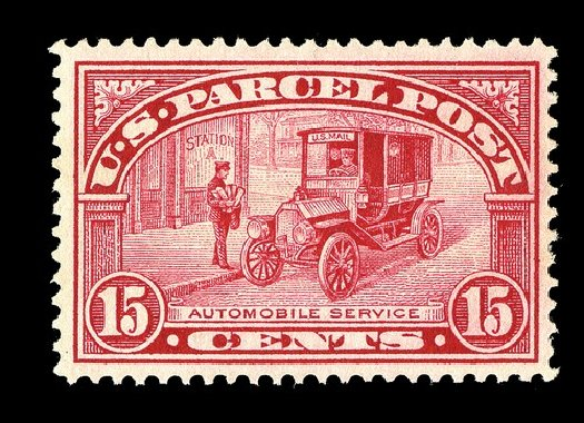 US Stamps Values Scott Cat. #Q7 - 15c 1913 Parcel Post. Spink Shreves Galleries, May 2014, Sale 148, Lot 401
