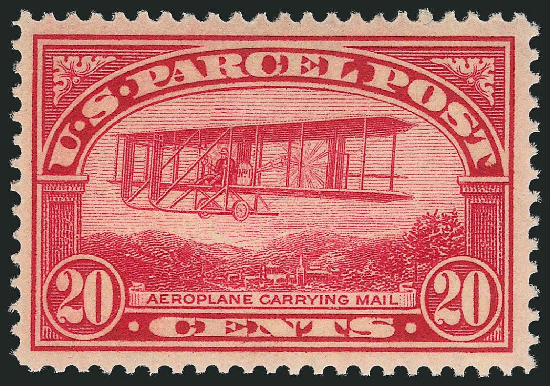 US Stamps Prices Scott Catalogue # Q8: 20c 1913 Parcel Post. Robert Siegel Auction Galleries, Dec 2014, Sale 1090, Lot 1700