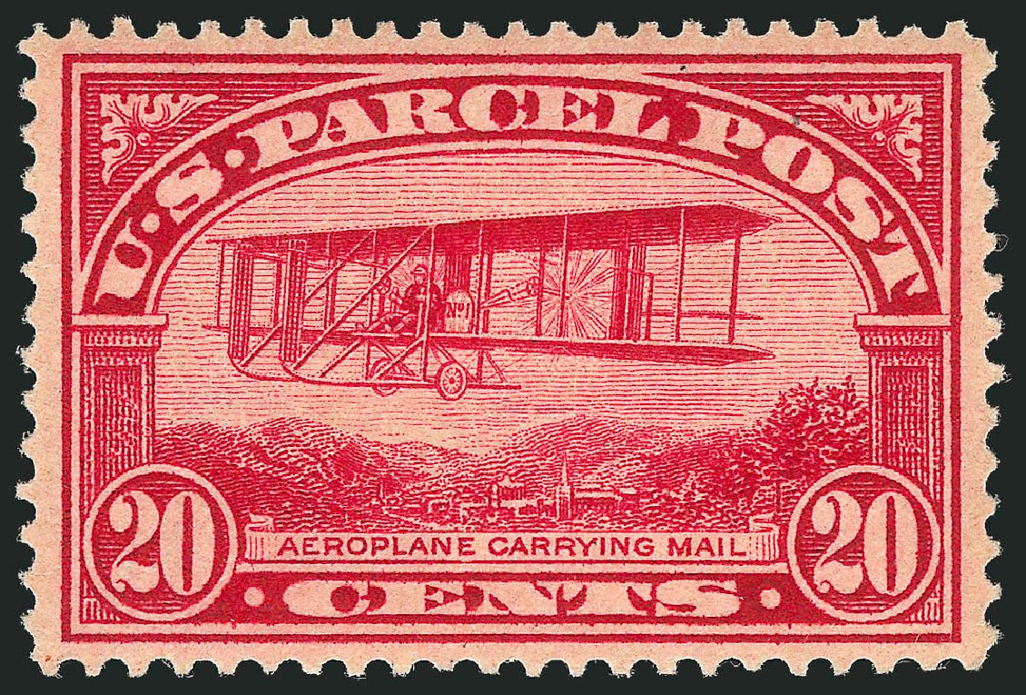 US Stamps Prices Scott # Q8 - 1913 20c Parcel Post. Robert Siegel Auction Galleries, May 2013, Sale 1044, Lot 331